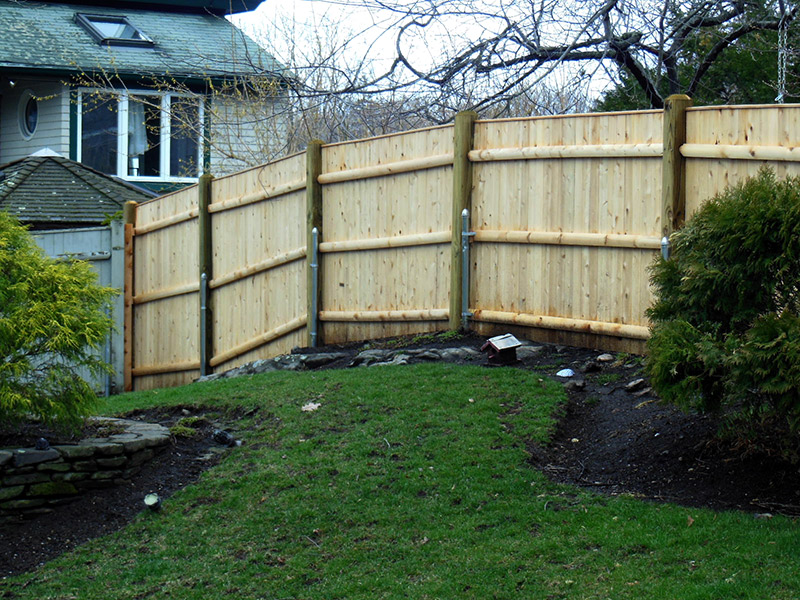 Privacy Fence With Pins