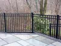 Echelon Plus Aluminum Fence Installed in Brookline MA