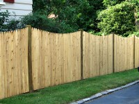 Scalloped Fence