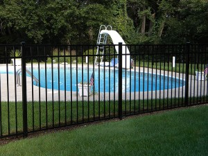 Aluminum Swimming Poo Fence