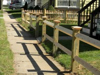 Square Post and Rail