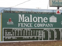 Green Monster Mural at Boston-Area Fence Company
