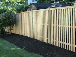 Wood fence in Swampscott
